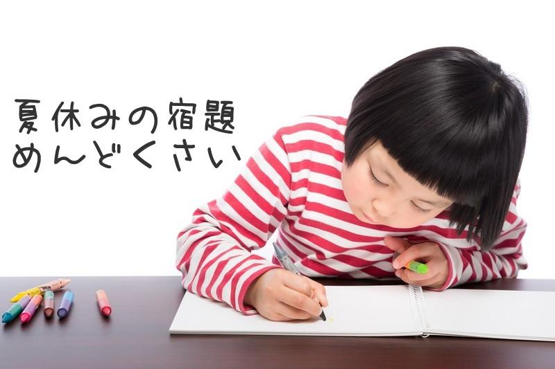 三大夏休みの宿題でめんどくさいものwwwwww
