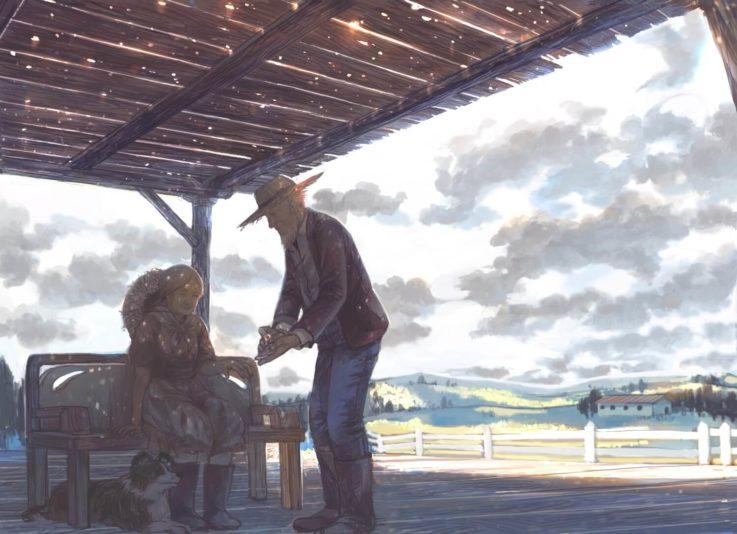 田舎の老夫婦