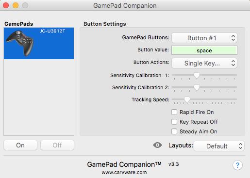 GamePad Companionの説明①