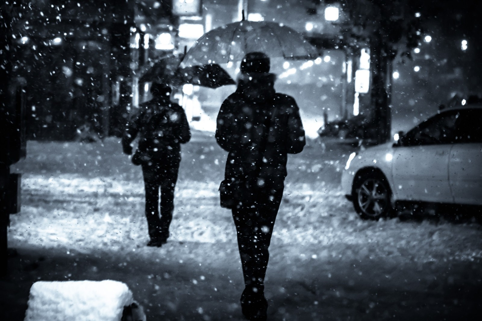 大雪に注意
