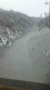 噴火後の白根山②