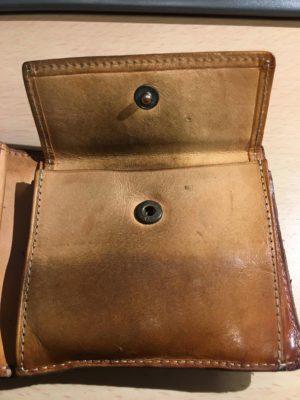 時代を感じる財布