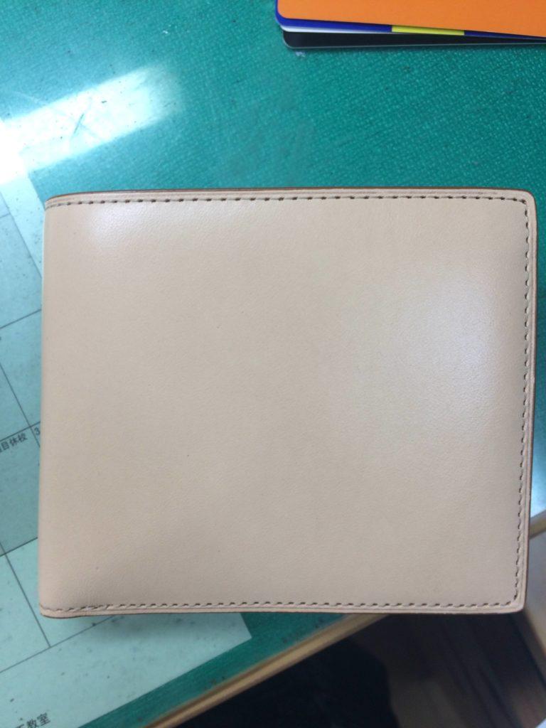 買った時の財布