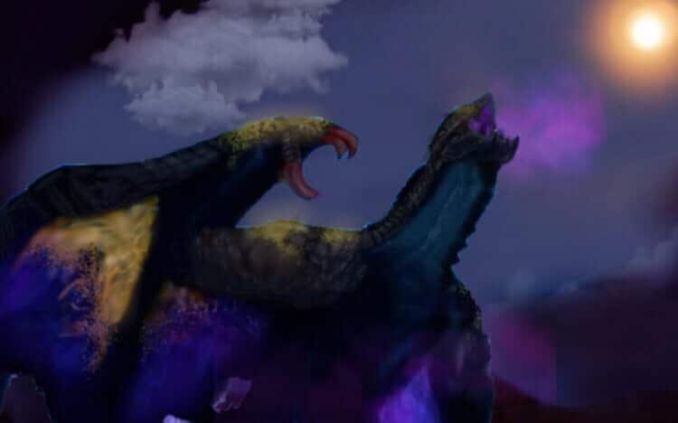 ドラゴンの絵