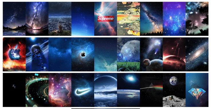 宇宙のスマホ壁紙