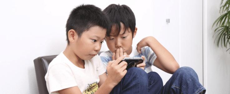 夏 子供とゲーム