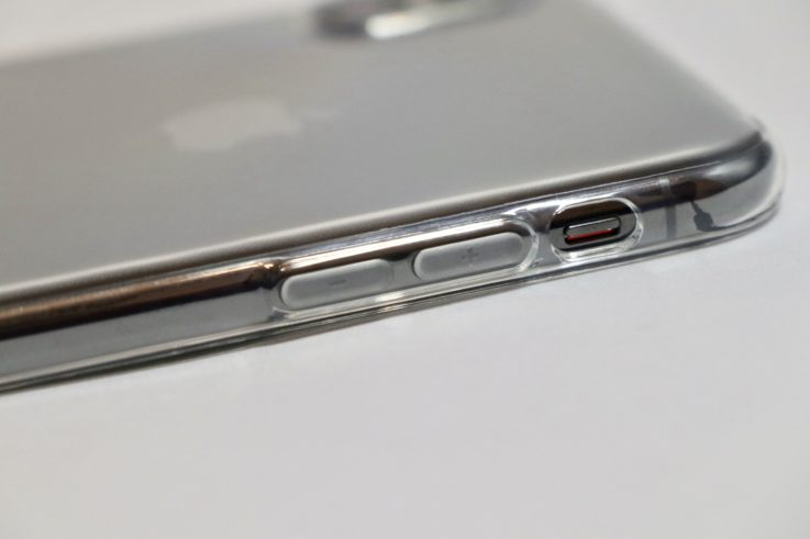 iphoneXsMAXの側面