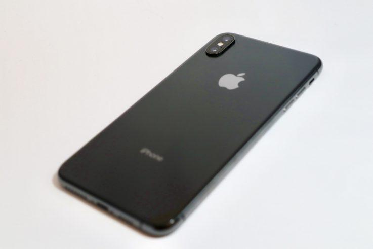 iphoneXsMAXの背面