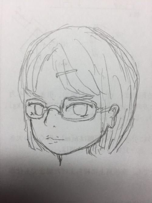 メガネのショートカット別角度