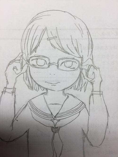 メガネのショートカット