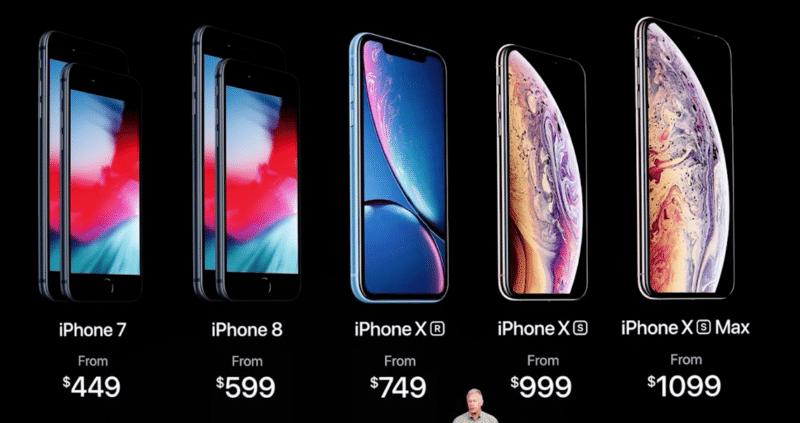 iphonexsの価格