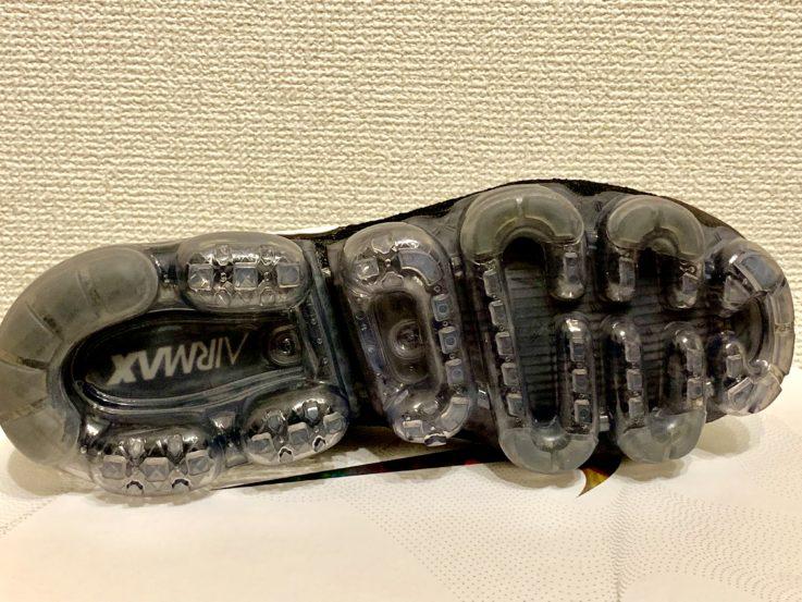 ヴェイパーマックスの靴底