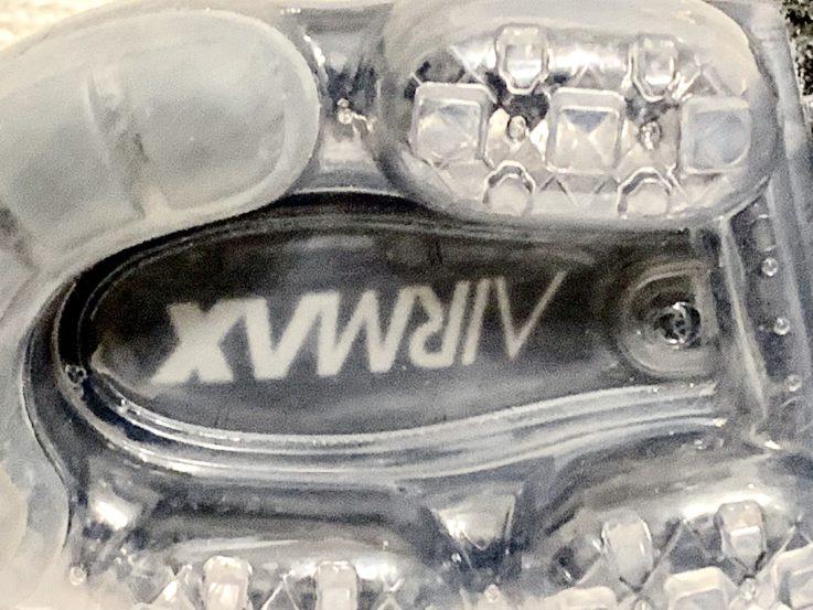 ヴェイパーマックスの靴底の拡大写真