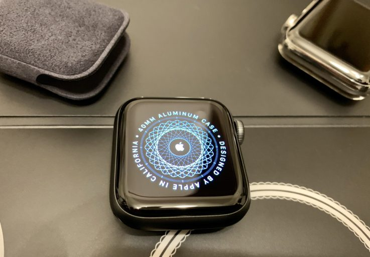 Apple Watch series4のセットアップ