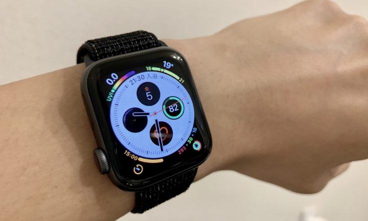 Apple Watch series4の新しい文字盤