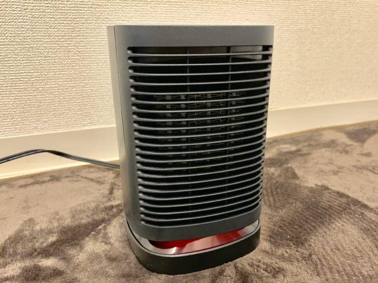 MIUOセラミック電気ファンヒーターの全体像