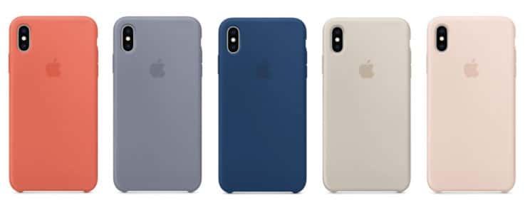 iPhone XS Maxシリコーンケースカラーリスト1