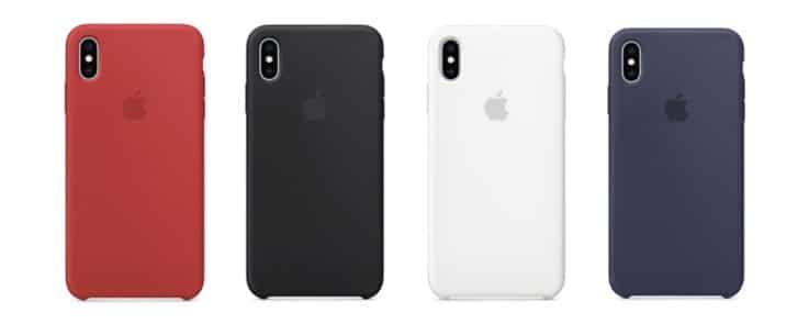 iPhone XS Maxシリコーンケースカラーリスト2