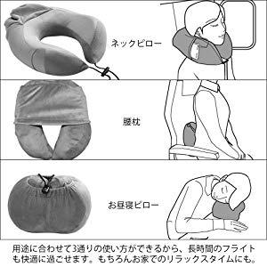 Muslish ネックピローの使用用途その2