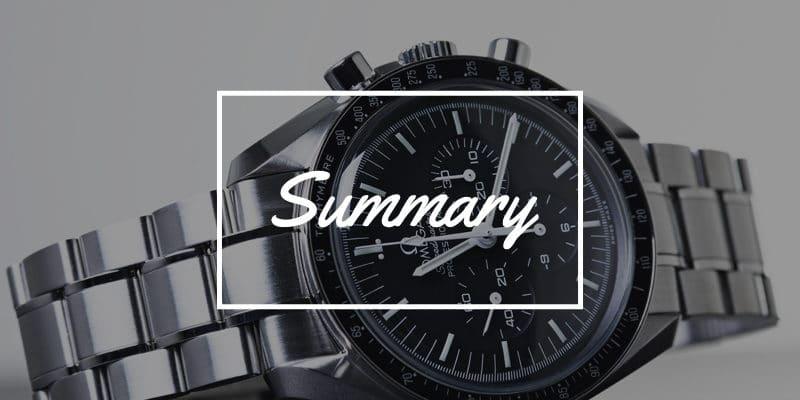 おすすめ腕時計のまとめ