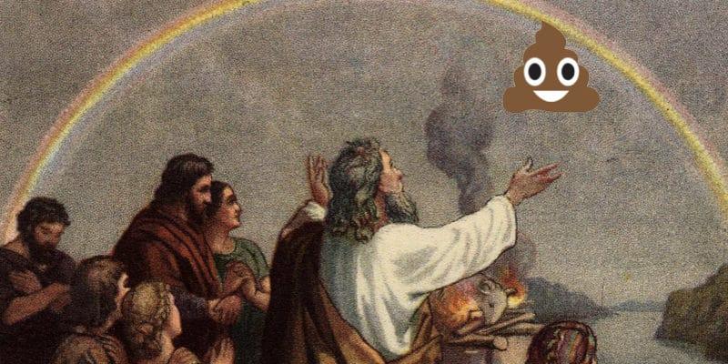 うんこ神様を崇める人たち