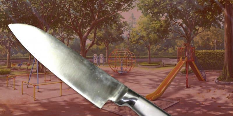 公園と包丁