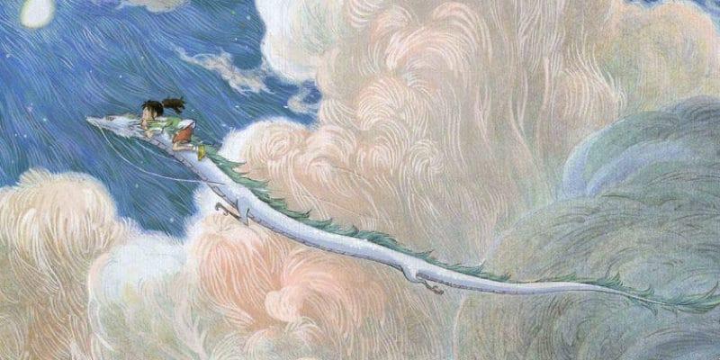 千と千尋の神隠しの中国版ポスター