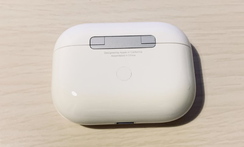 AirpodsProのケース背面