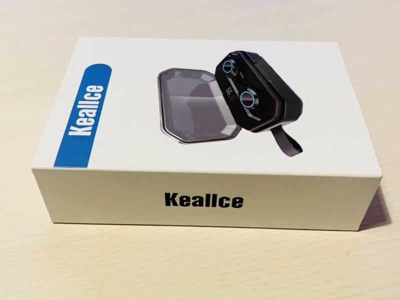 Keallce Bluetooth イヤホンの箱