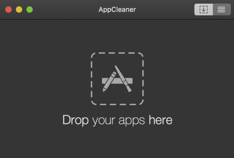 appcleanerの画面