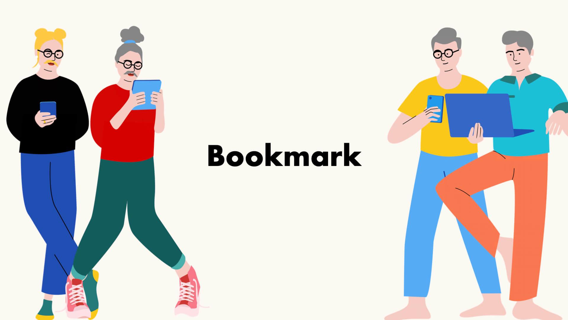 ブックマーク